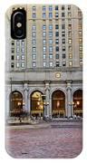 Public Square Cleveland Ohio IPhone Case