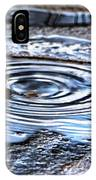 Puddle Water Droplet IPhone X Case
