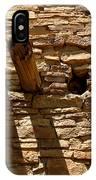 Pueblo Bonito Wall IPhone Case
