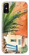 Puerto Carmen Sunset In Lanzarote IPhone Case