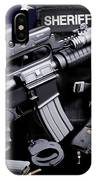 Pulaski Sheriff Tactical IPhone Case