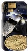 Pulaski Sheriff St Michael IPhone Case