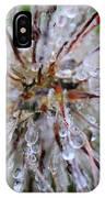 Pulsatilla Vulgaris Flower Design IPhone Case