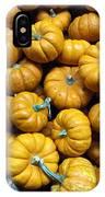 Pumpkin Galore. IPhone Case