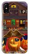 Pumpkin Masquerade IPhone Case