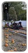 Pumpkin Train IPhone Case