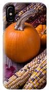Pumpkins And Corn IPhone X Case
