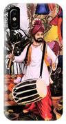 Punjabi Dhol IPhone Case