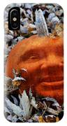 Punkin' Hed IPhone Case