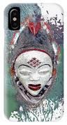 Punu Mask - Maiden Spirit Mukudji IPhone Case