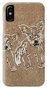 Puppy Brigade IPhone Case