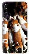 Puppy Dinner Time IPhone Case