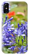 Purple Agapanthas IPhone Case