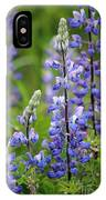 Purple Alaskan Lupines IPhone Case
