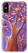 Purple And Orange IPhone Case
