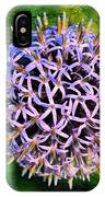 Purple Ball IPhone Case