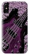 Purple Bass IPhone Case