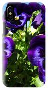 Purple Blooms IPhone Case
