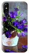 Purple Blues IPhone Case