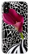 Purple Calla Lily IPhone Case