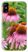 Purple Cone Flowers IPhone Case