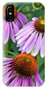 Purple Coneflowers - D007649a IPhone Case