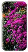 Purple Contrast IPhone Case