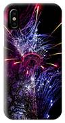 Purple Crown IPhone Case