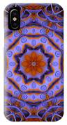 Purple Design 2 IPhone Case