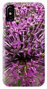 Purple Explosion IPhone Case