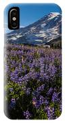 Purple Fields Forever And Ever IPhone Case