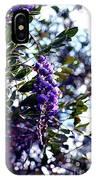 Purple Flowering Tree IPhone Case
