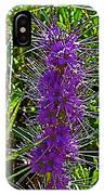 Purple Fringe On Bald Mountain In Ketchum-idaho IPhone Case