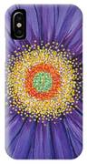Purple Fusion IPhone X Case