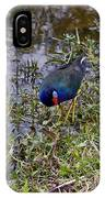 Purple Gallinule IPhone Case