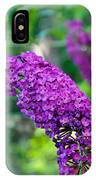 Butterfly Bush Garden Flower IPhone Case