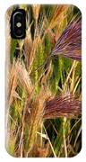 Purple Grasses IPhone Case
