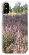 Purple Heather IPhone Case