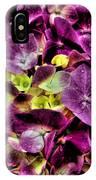 Purple Hortensia After Summer Rain IPhone Case