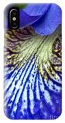 Purple Iris Petal IPhone Case