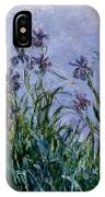Purple Irises IPhone Case