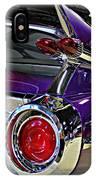 Purple Kustom Kadillac IPhone Case