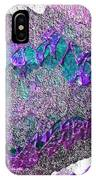 Purple Mountain Strata IPhone Case