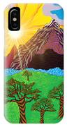 Purple Mountains Majesty IPhone X Case