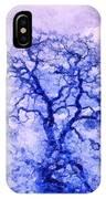 Purple Oak Tree Dream  IPhone Case