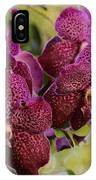 Purple Orchids With Bokeh IPhone Case