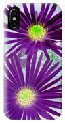 Purple Passion - Photopower 1604 IPhone Case