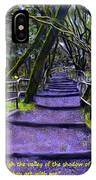Purple Path Through The Valley IPhone Case