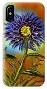 Purple Petals IPhone Case
