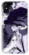 Purple Roses IPhone Case